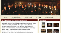 Home page del coro