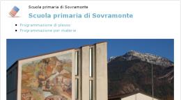 Home page di una scuola